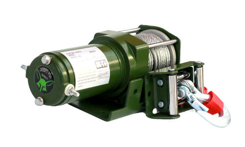Desert Fox Winch ALPHA 3000 HQ ATV Seilwinde