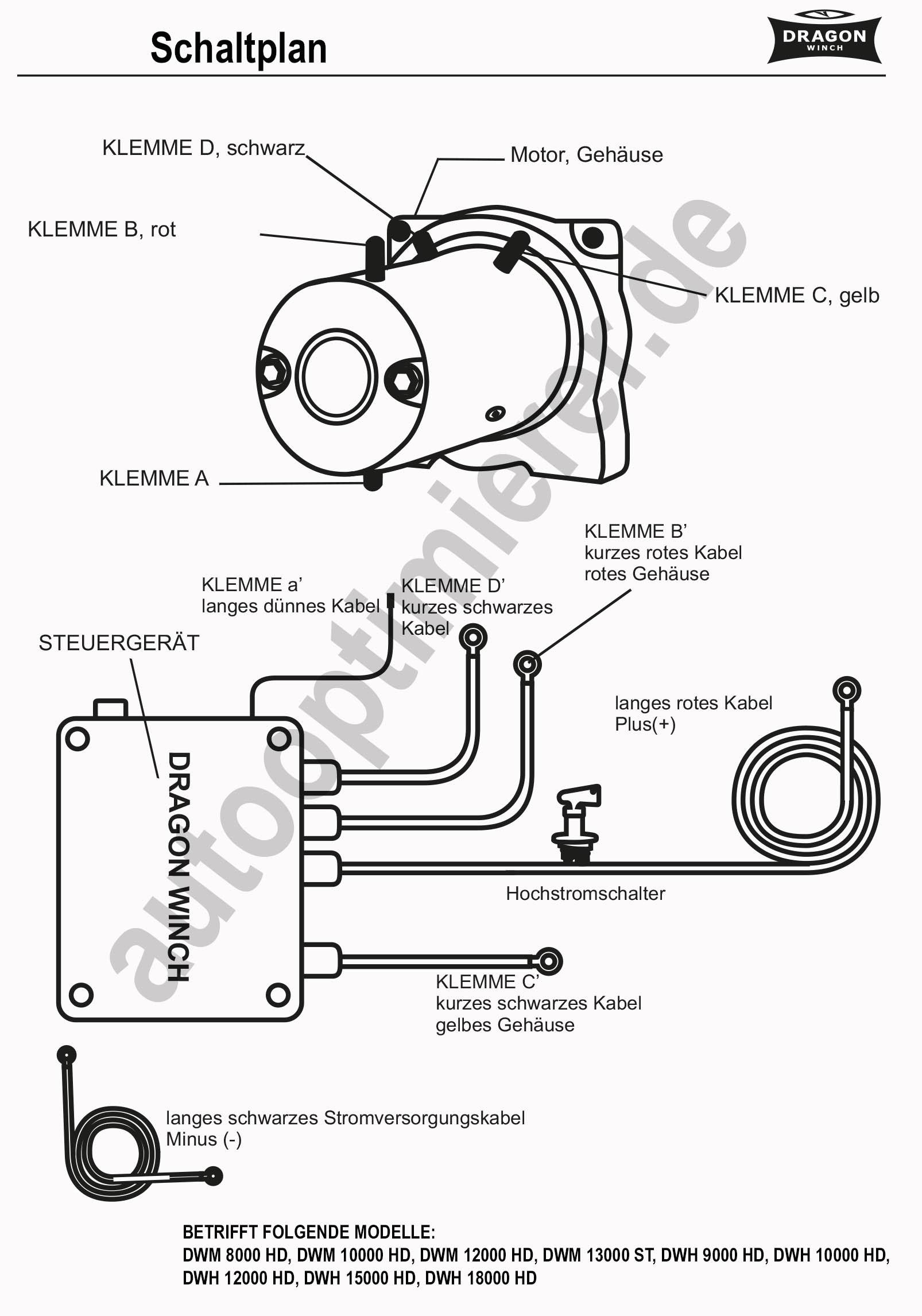 Montageanleitungen - autooptimierer - Seilwinden -Offroad Zubehör
